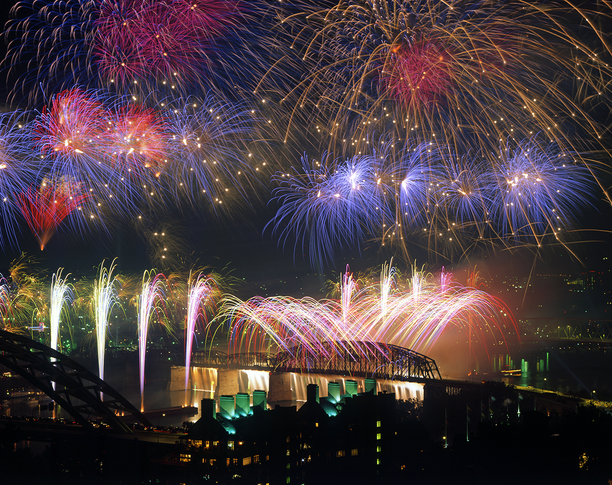 Western and Southern WEBN Fireworks