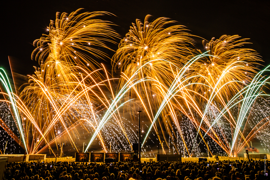 Knokke, Belgium – Knokke Heist Fireworks Festival – 2nd Place Winner